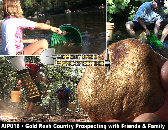 gold rush tools. Gold Rush Country Prospecting